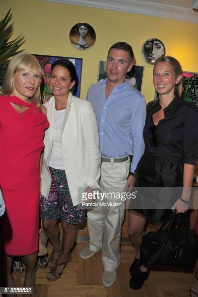 Annemarie Iverson Anamaria Wilson Billy Daley and Anne Monoky attend Book Party for 'IN FASHION' by ANNEMARIE IVERSON Hosted by JOHN DEMSEY at...