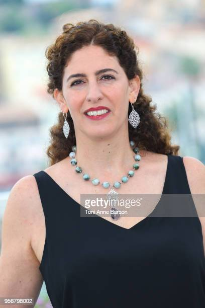 9 Annemarie Jacir attends the Jury Un Certain Regard photocall during the 71st annual Cannes Film Festival at Palais des Festivals on May 9 2018 in...