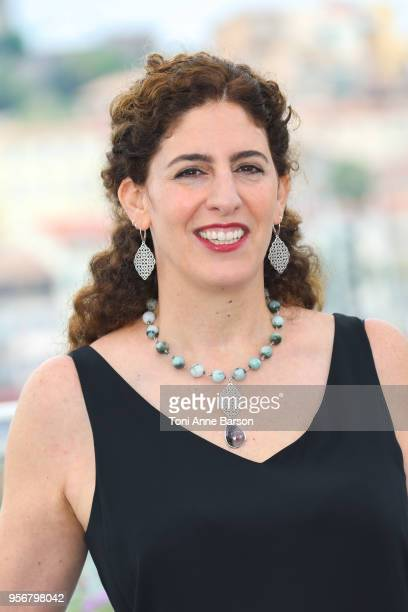 9 9 Annemarie Jacir attends the Jury Un Certain Regard photocall during the 71st annual Cannes Film Festival at Palais des Festivals on May 9 2018 in...