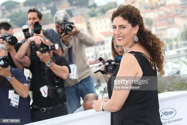 Annemarie Jacir attends the Jury Un Certain Regard photocall during the 71st annual Cannes Film Festival at Palais des Festivals on May 9 2018 in...