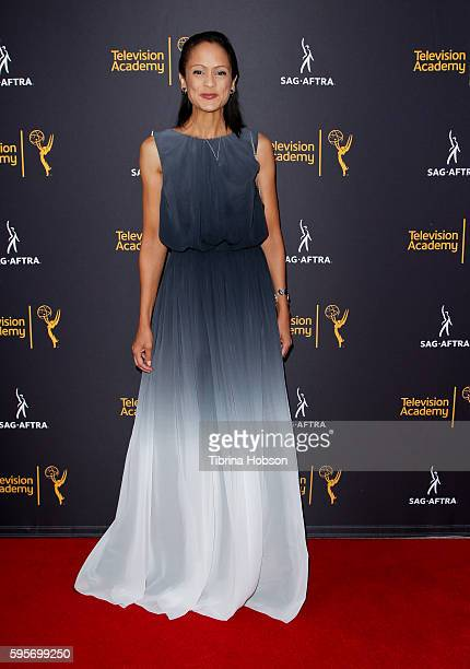 AnneMarie Johnson attends the Television Academy and SAGAFTRA's 4th annual Dynamic and Diverse Celebration at Saban Media Center on August 24 2016 in...