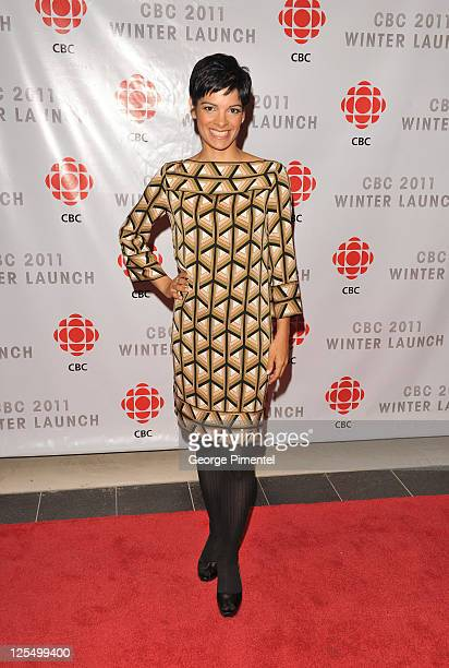 AnneMarie Mediwake attends the CBC Winter Launch at TIFF Bell Lightbox on November 18 2010 in Toronto Canada