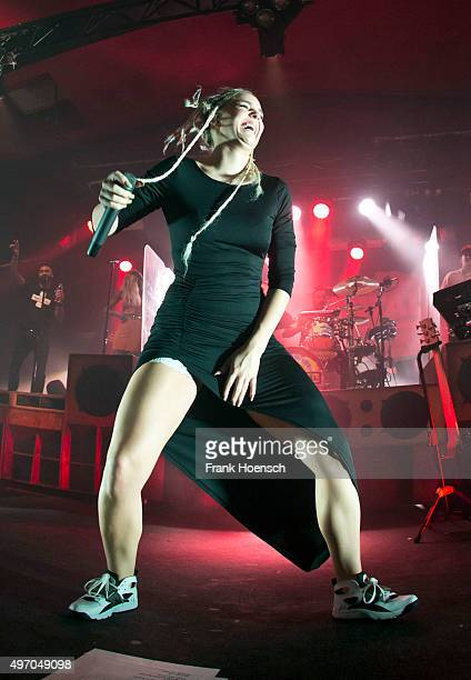 AnneMarie Nicholson of the British band Rudimental performs live during a concert at the Astra on November 13 2015 in Berlin Germany