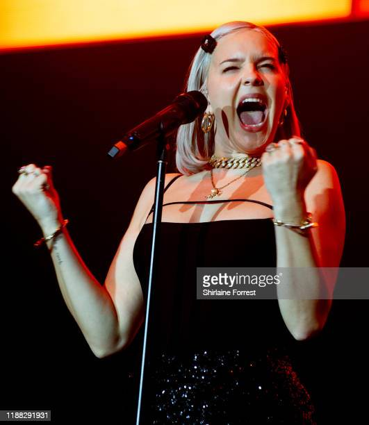 AnneMarie performs at Hits Radio Live 2019 at Manchester Arena on November 17 2019 in Manchester England