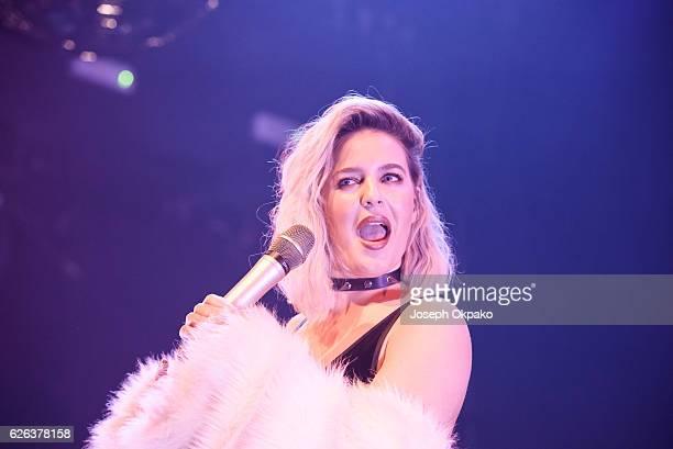 AnneMarie performs at KOKO on November 28 2016 in London England