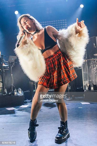 AnneMarie performs at KOKO on November 28 2016 in London England