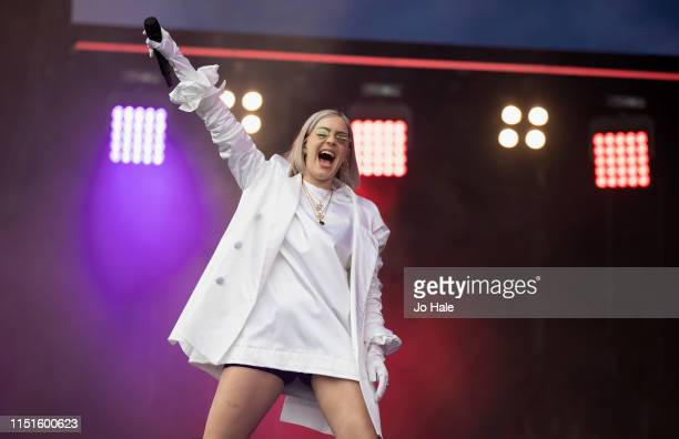 AnneMarie performs at the Radio 1 Big Weekend at Stewart Park on May 25 2019 in Middlesbrough England