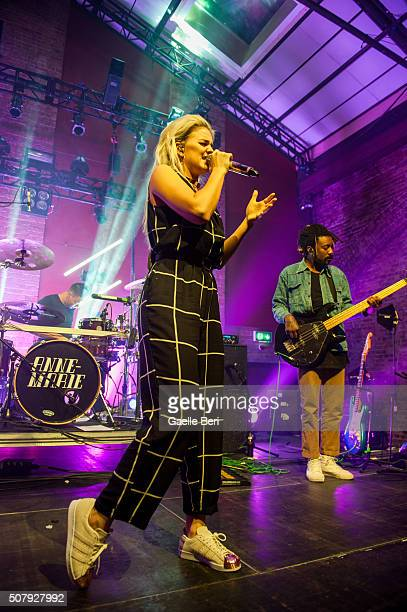AnneMarie performs live at Village Underground on February 1 2016 in London England