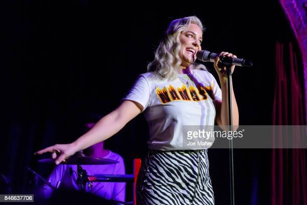 AnneMarie performs live on stage as part of Nordoff Robin's Get Loud awareness day at Omeara London on September 13 2017 in London England