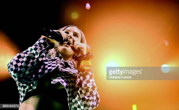 AnneMarie performs live on stage at The O2 Ritz Manchester on March 20 2018 in Manchester England