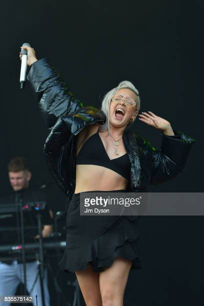 AnneMarie performs live on stage during V Festival 2017 at Hylands Park on August 19 2017 in Chelmsford England