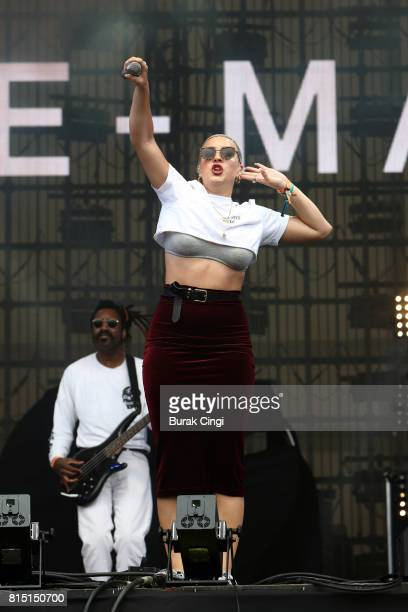 ONLY AnneMarie performs on day 2 of Lovebox Festival at Victoria Park on July 15 2017 in London England