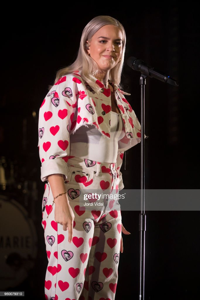 Anne Marie Performs in Concert in Barcelona