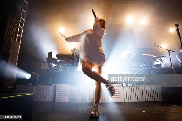 AnneMarie performs on stage at O2 Academy Leeds on May 27 2019 in Leeds England