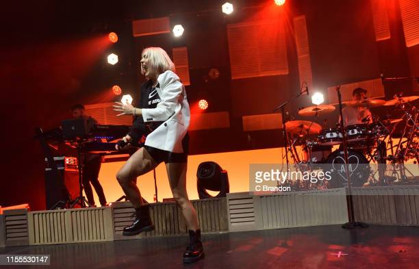 AnneMarie performs on stage at the Eventim Apollo on June 12 2019 in London England
