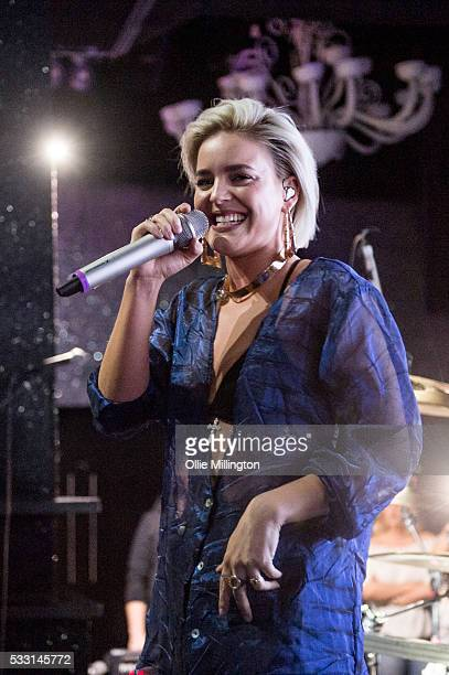 AnneMarie performs onstage at The Haunt on Day 2 of The Great Escape 2016 on May 20 2016 in Brighton England
