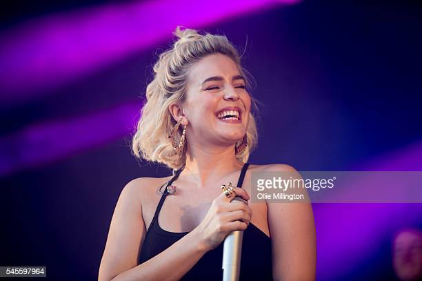 AnneMarie performs onstage during Day 1 of Wireless Festival 2016 at Finsbury Park on July 8 2016 in London England