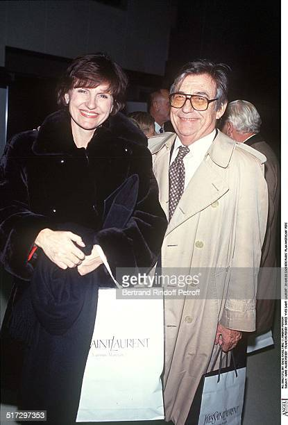 AnneMarie Perier 'Francois Perier' Yves Saint Laurent 30 years of career party