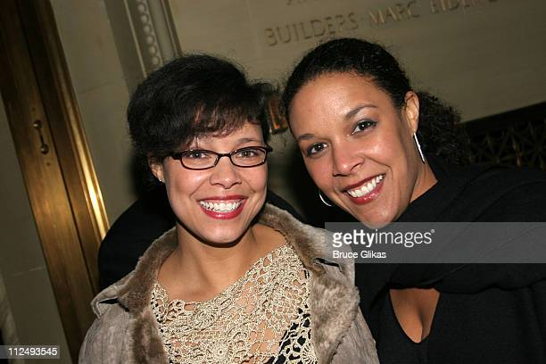 Annemarie Powell and Linda Powell daughters of Colin Powell