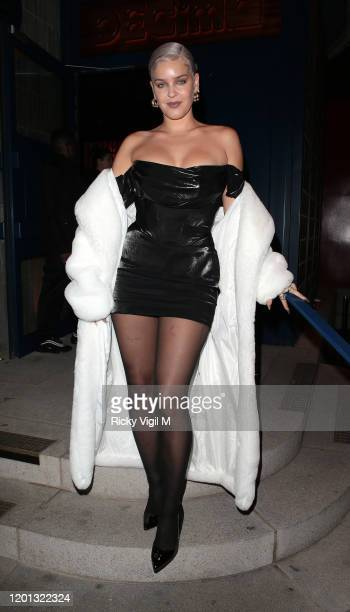 AnneMarie seen attending Vanity Fair EE Rising Star BAFTAs pre party at Decimo The Standard on January 22 2020 in London England