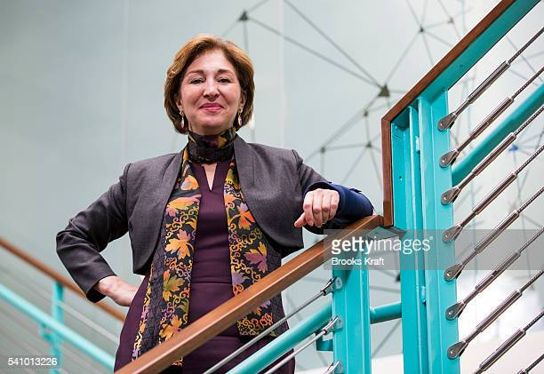 AnneMarie Slaughter President and CEO of New America a think tank and civic enterprise with offices in Washington and New York February 9 2016 in...