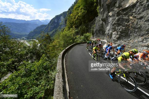 Annemiek van Vleuten of The Netherlands and Team MitcheltonScott / Megan Guarnier of The United States and Boels Dolmans Cycling Team / Amanda Spratt...