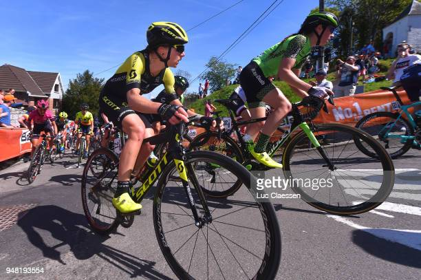 Annemiek van Vleuten of The Netherlands and Team MitcheltonScott / Sabrina Stultiens of The Netherlands and Team WaowDeals Pro Cycling / during the...