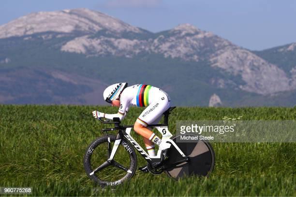 Annemiek van Vleuten of The Netherlands and Team MitcheltonScott / during the 31st Women WT Emakumeen Bira 2018 Stage 2 a 266km Individual Time Trial...