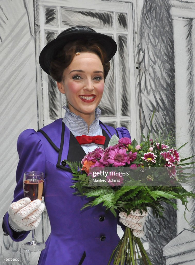 Annemieke Van Dam poses for a photograph during the Mary Poppins musical premiere at Ronacher Theater on October 1, 2014 in Vienna, Austria.