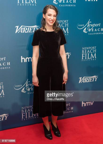 Annes Elwy attends the 'Newport Beach Film Festival' annual UK honours at The Rosewood Hotel on February 15 2018 in London England