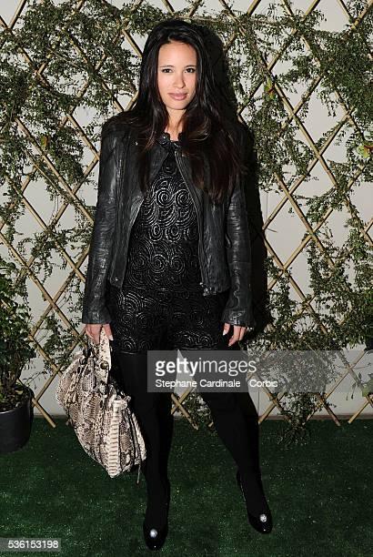 AnneSolenne Hatte attends the Escada Garden Party in Paris