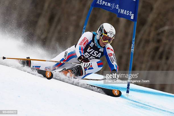AnneSophie Barthet of France takes 11th place during the Audi FIS Alpine Ski World Cup Women's Giant Slalom on November 28 2009 in Aspen Colorado