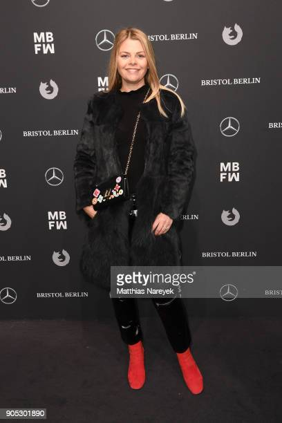 AnneSophie Briest attends the Dawid Tomaszewski show during the MBFW Berlin January 2018 at ewerk on January 15 2018 in Berlin Germany