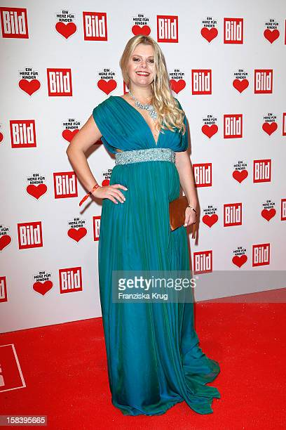 AnneSophie Briest attends the 'Ein Herz Fuer Kinder Gala 2012' on December 15 2012 in Berlin Germany
