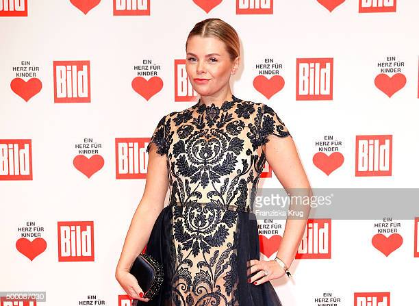AnneSophie Briest attends the Ein Herz Fuer Kinder Gala 2015 at Tempelhof Airport on December 5 2015 in Berlin Germany
