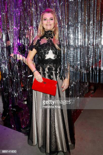 AnneSophie Briest attends the Ein Herz Fuer Kinder Gala reception at Studio Berlin Adlershof on December 9 2017 in Berlin Germany