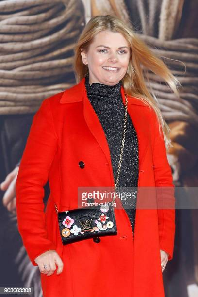 AnneSophie Briest attends the 'Hot Dog' Premiere at CineStar on January 9 2018 in Berlin Germany