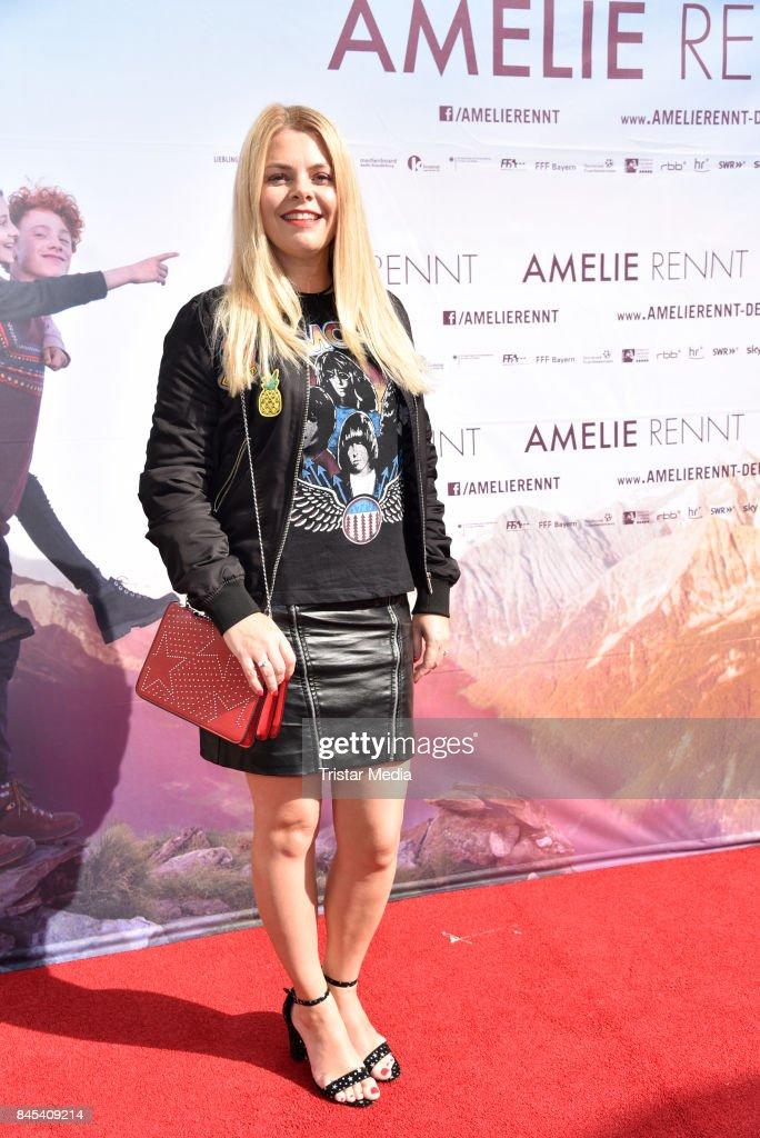Premiere 'Amelie Rennt' In Berlin : News Photo