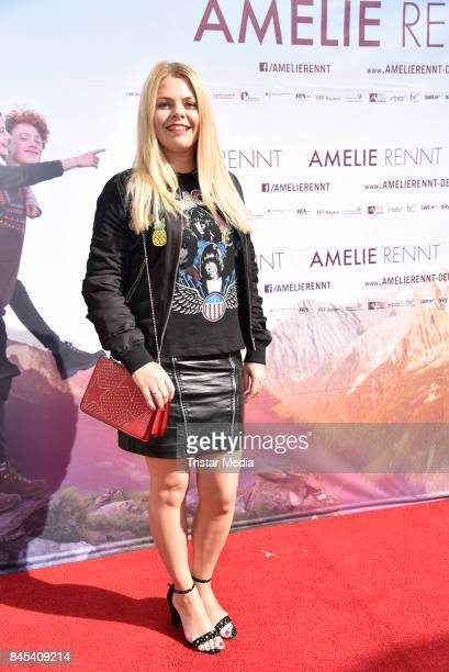 AnneSophie Briest attends the premiere 'Amelie Rennt' on September 10 2017 in Berlin Germany