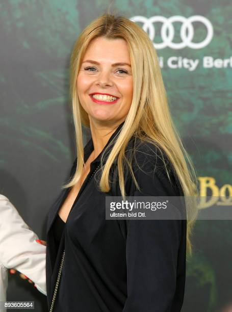 AnneSophie Briest auf dem Roter Teppich bei der Premiere des Animationsfilmes zur Filmpremiere > The Jungle Book < im Kino Zoo Palast in Berlin