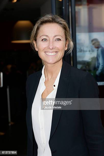 AnneSophie Lapix attends the 3th Film Festival of St Jean de Luz on October 6 2016 in Saint Jean de Luz France