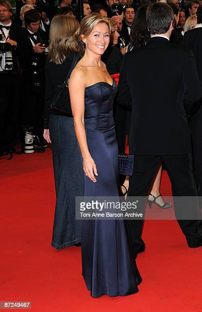 AnneSophie Lapix attends the 'Bright Star' Premiere at the Grand Theatre Lumiere during the 62nd Annual Cannes Film Festival on May 15 2009 in Cannes...