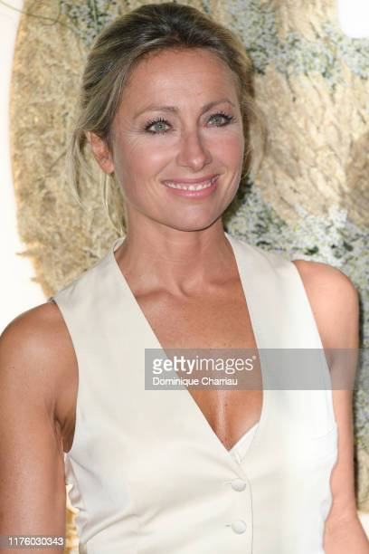 AnneSophie Lapix attends the Opening Season Gala Opera National De Paris At Palais Garnier on September 20 2019 in Paris France