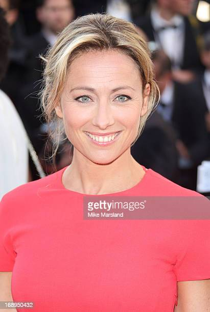 AnneSophie Lapix attends the Premiere of 'Le Passe' at The 66th Annual Cannes Film Festival on May 17 2013 in Cannes France