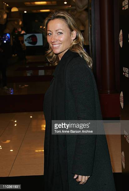AnneSophie Lapix attends the Tommy Hilfiger Cannes Store Opening Party The Hilfiger Sessions featuring Keziah Jones' performance at the Palm Beach...