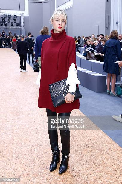 AnneSophie Mignaux attends the Chloe show as part of the Paris Fashion Week Womenswear Spring/Summer 2016 Held at Grand Palais on October 1 2015 in...