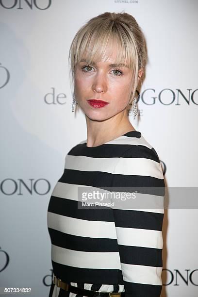 AnneSophie Mignaux attends the 'De Grisogono' La Boetie cocktail on January 28 2016 in Paris France