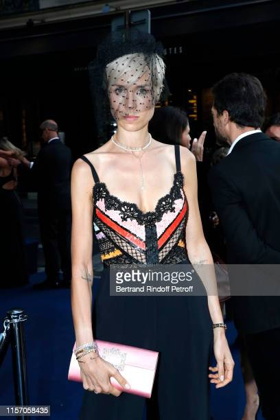 AnneSophie Mignaux attends the Laperouse Mask Ball on the occasion of the inauguration evening of the Laperouse Restaurant as part of Paris Fashion...