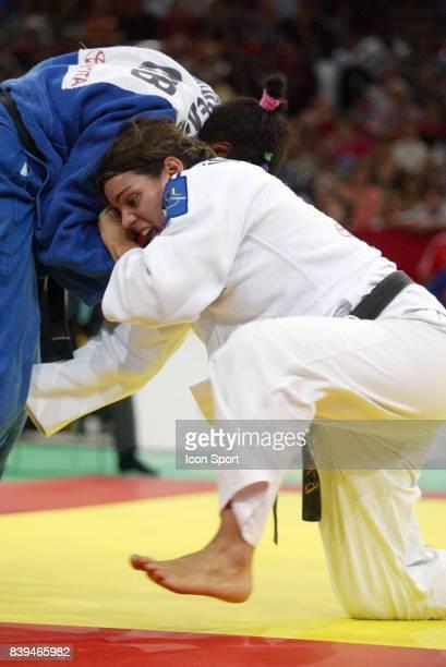 AnneSophie MONDIERE 78kg Championnat du Monde par equipe des Nations tournoi fΘminin Paris