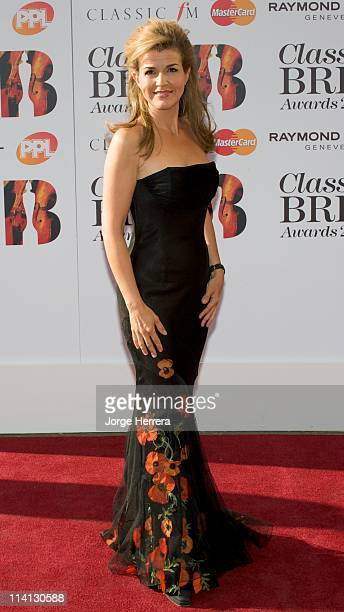 AnneSophie Mutter attends the Classic Brit Awards at the Royal Albert Hall on May 12 2011 in London England